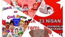 23 Nisan Ulusa Egemenlik Çocuk Bayramımız Kutlu olsun ve MİRAÇ Kandilimiz Mübarek Olsun Gebze Yüzme